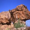 バダーミー周辺の奇岩 Badami rocks 2