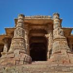 モデラーのスーリヤ寺院 surya temple (Modhera) 2