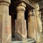 エレファンタ島の石窟寺院 shiva cave temple (elephanta island) 2